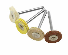 4 Piece Polishing Bonnet Set Dremel Compatible Multi Tool Accessories rotary