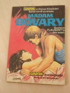 Madame Bovary - GUSTAVE FLAUBERT classics illustrated TURKISH RARE TURKEY