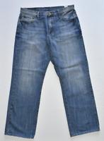 LUCKY BRAND Dungarees Straight Leg 165 Denim Blue Jeans Men's Size 34 X 31