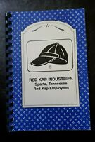 1995 Sparta, Tennessee Red Kap Industries EMPLOYEE COOKBOOK Recipes COMB