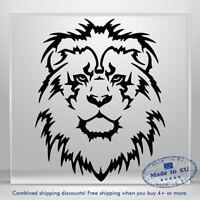 Lion Head Decal Funny JDM Auto Car Bumper Window Vinyl Decal Sticker Truck 3M