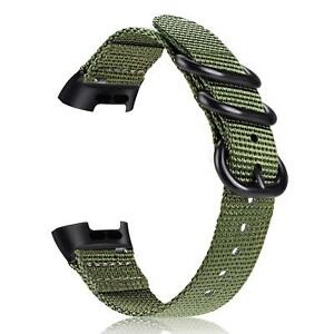 For Fitbit Charge 4 / 3 Soft Woven Nylon Sports Watch Bands Replacement Strap