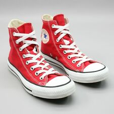 Converse All Star Men's 6.5 Chuck Taylor Unisex Red High Top Canvas Sneakers