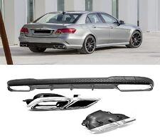 Für Mercedes-Benz E-Klasse W212 E63 AMG Look Heckschürze Stoßstange Diffusor *2