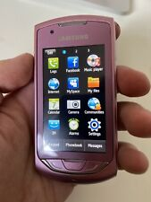 SAMSUNG S5620 MONTE TOUCH MOBILE PHONE - UNLOCKED Working Original Rare Collecti