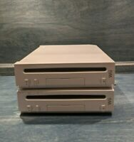 PARTS! LOT OF 2 NINTENDO WII Console RVL-001 FOR REPAIR OR PARTS