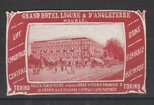 Poster Stamp Italy Hotel