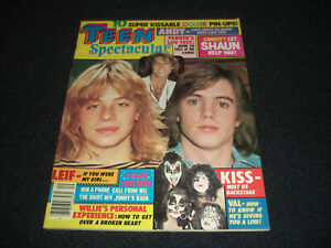 Teen Spectacular September 1978  KISS,  Andy, Bay City Rollers, John, Bee Gees