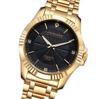 CHENXI Luxury Stainless Steel Strap Men's Analog Army Sport Quartz Wrist Watch