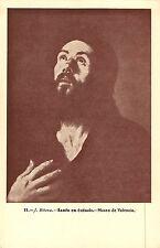 BR70861 santo en extasis  j ribera  painting postcard valencia spain