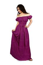 I-D-D Renaissance Peasant Wench Pirate Faire  Gown Boho Hippie Sun Dress 2XL/3XL