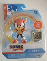 """Sonic The Hedgehog Sonic Mighty Action figure jakks toys 4"""" toy - new"""