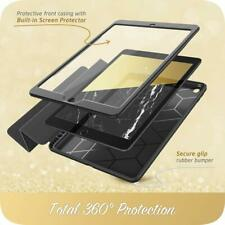 """iPad 7th Gen 2019 10.2"""" i-Blason Trifold Stand Case Cover with Screen Protector"""