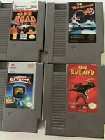 Nintendo Nes Game Lot Of 4