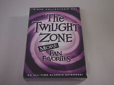 The Twilight Zone MORE Fan Favorites: 20 All-Time Classic Episodes New Sealed