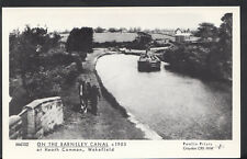 Yorkshire Postcard - On The Barnsley Canal at Heath Common, Wakefield  2535