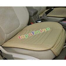 Universal PU siège de voiture en cuir couvre pour Office Car Auto chaises Beige