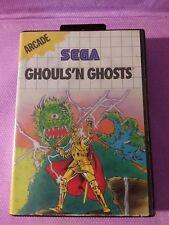 SEGA Master System gioco - Ghouls'n Ghosts (nell'imballaggio) (usato)