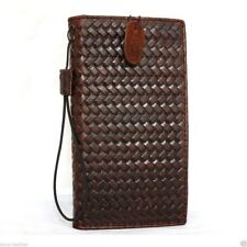genuine vintage leather Case for apple iphone 6s book wallet handmade cover slim