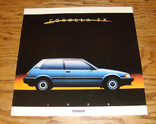 Original 1988 Toyota Corolla FX Deluxe Sales Brochure 88