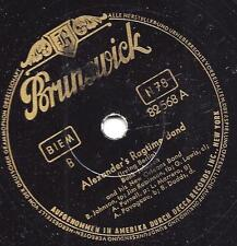 Bunk Johnson : Alexanders Ragtime Band  + My Maryland
