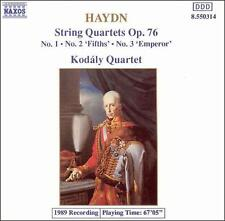 Haydn: String Quartets Op. 76, Nos. 1-3 (CD, Sep-1992, Naxos (Distributor))