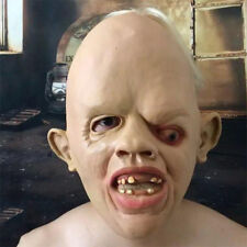 Latex Rubber Creepy Scary Ugly Baby Head the Goonies Sloth Mask Halloween Party
