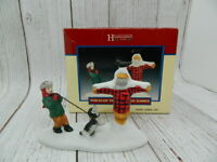 Lemax Christmas Hearthside Village Porcelain The Forgotten Summer with Box 1997