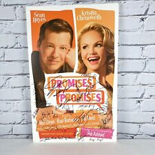 Kristen Chenoweth & Sean Hayes Signed PROMISES PROMISES Broadway Poster 2010
