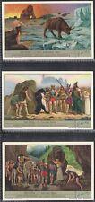 LIEBIG-*S1291*-FULL SET- GERMAN - EDDA NORSE SAGA (6 CARDS)