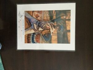 Fergie Jenkins Hand Signed Autograph Limited Edition HOF Lithograph