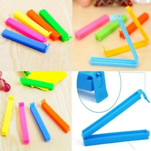 Home Plastic Candy Color Kitchen Tool Food Clips Sealing Clamp Snack Bag Sealer