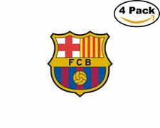FC Barcelona 1 Spain Club Soccer FC 4 Sticker 4X4 Inches