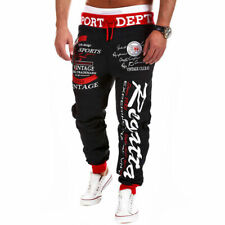 Men's Casual Jogger Sportwear Baggy Harem Pants Slacks Trousers Sport Sweatpants