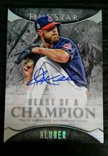 2017 Topps Five Star Heart of a Champion Corey Kluber Auto /35