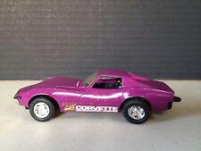 Tootsietoy Metal '68 1968 Corvette Magenta