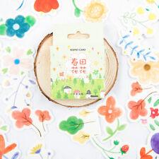 1 box spring flower Stickers Diary Decor Diy Scrapbooking Stationery StickeRSFBB