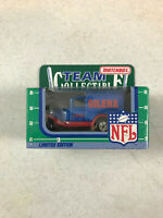 1990 Matchbox NFL Team Collectible Houston Oilers 1:64 Delivery Truck NFL-90-20