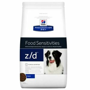 Z/D HILL'S PRESCRIPTION DIET FOOD SENSITIVITIES 10 KG SECCO CANE ITALIA