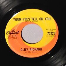 """45 7"""" CLIFF RICHARD Your Eyes Tell On You/It's All In The Game CANADA 72127 EX"""