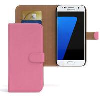 Tasche für Samsung Galaxy S7 Case Wallet Schutz Hülle Cover Rosa