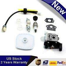Carburetor for Zama RB-K93 Echo SRM-225 GT-225 PAS-225 Air Filter Fuel Line Kit