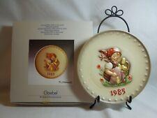 Hummel Plate # 278 Chick Girl 1985