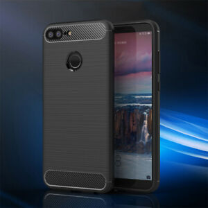 For Google Pixel 5 4A 4 3A 3 2 XL Slim Fiber Carbon Silicone Rugged Case Cover