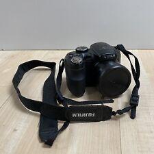 Fujifilm FinePix S2940wm 14.0mp 18x 5.0-90mm ZOOM DIGITAL CAMERA Black Tested