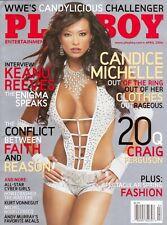Vintage Playboy magazine april 2006 wwe candice michelle