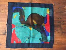 Paul Smith Common Squirrel Pocket Square 70% wool 30% Silk