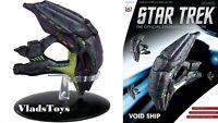 Della Quadrant alien Void Ship Eaglemoss Star Trek Issue #161 w/Magazine