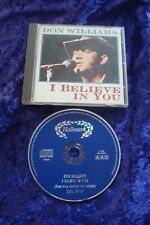 CD.DON WILLIAMS.I BELIEVE IN YOU.CLASSIC COUNTRY.HALLMARK RECORDS.18 TRACKS.