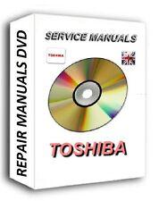 Laptop TOSHIBA Service Repair Manuals CD DVD Satelite Portege TECRA Equium
